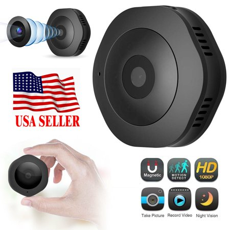 Mini Camera HD 1080P/720P Adjustable Video 4032 x 3024 Picture Resolution  Recorder Cam Home Security with Motion Detection Night Vision