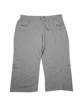 58730ee69169f Karen Scott Plus Size Grey Wide-Leg Sweatpants 3X. Karenscott