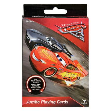 Disney 's Cars Jumbo Playing Cards (Printable Disney Stencils)