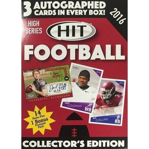 2016 Sage High Draft Pick Football Value Box by Sage