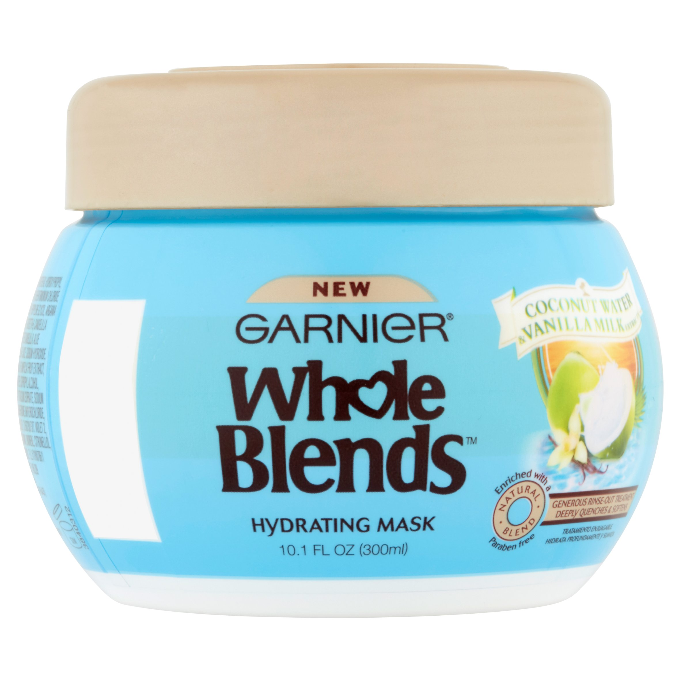 Affordable Garnier Whole Blends Hair Mask With Coconut Water