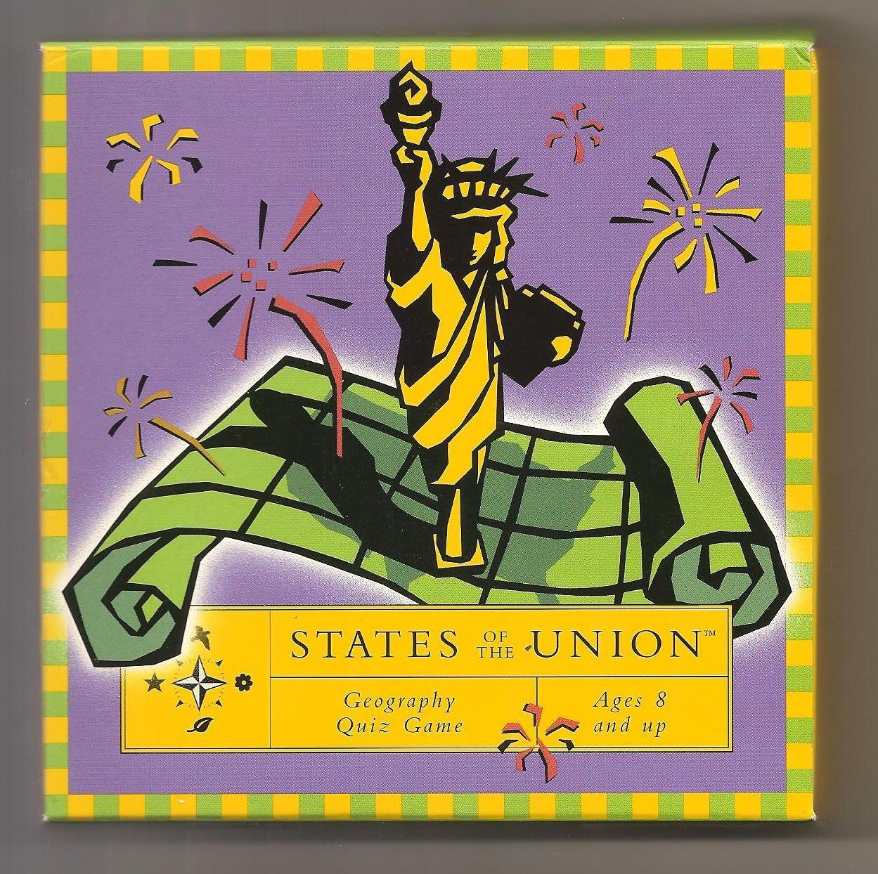 States of the Union Geography Quiz Game by, By Resource Games by