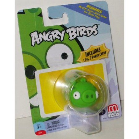 Mattel Angry Birds Game Green Pig Mini Figure (Game Angry Birds Halloween Pc)