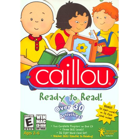Caillou Ready To Read for Windows and Mac