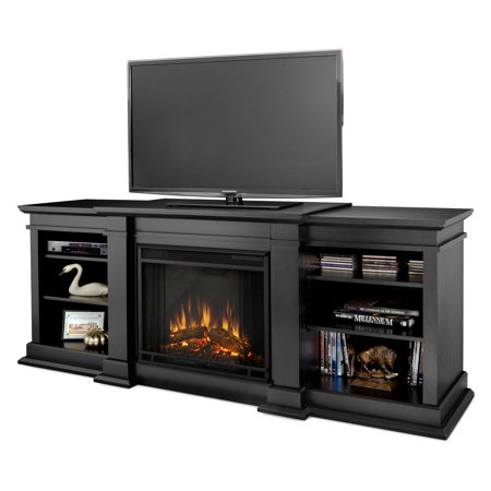 Free Shipping. Buy Real Flame Fresno Electric Fireplace - Black at Walmart.com