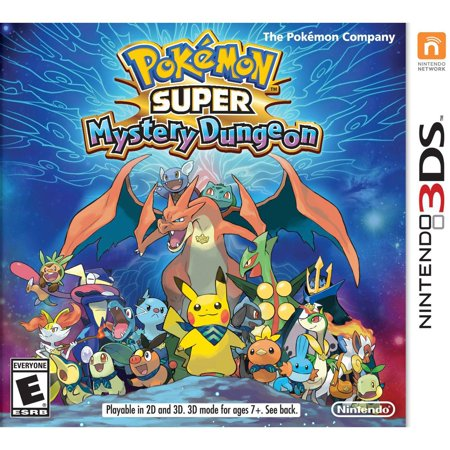 Pokemon Super Mystery Dungeon, Nintendo, Nintendo 3DS,