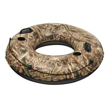 Bestway Realtree 47 Inches Lake Runner Inflatable Inner Tube Float, (Best Way To Attach A Swing To A Tree)