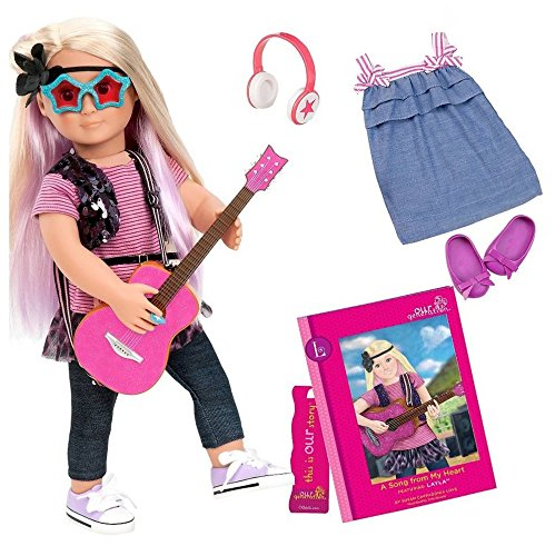 "Our Generation Deluxe Doll - Layla & ""A Song From My Heart"""