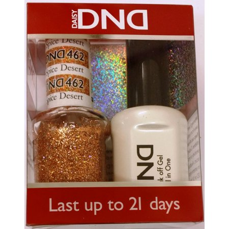 DND Nail Polish Gel & Matching Lacquer Set (462 - Spice Desert)