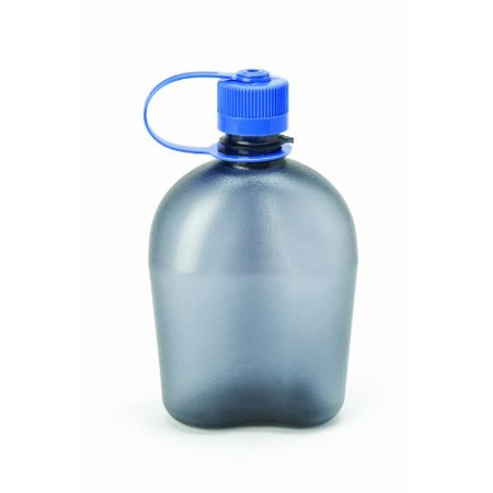 Nalgene BPA Free Tritan Oasis Canteen 32 Oz Narrow Mouth Bottle, Gray - - Oasis Canteen