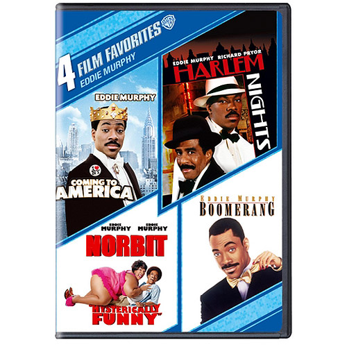 4 Film Favorites: Eddie Murphy - Coming To America / Harlem Nights / Norbit / Boomerang (Widescreen)