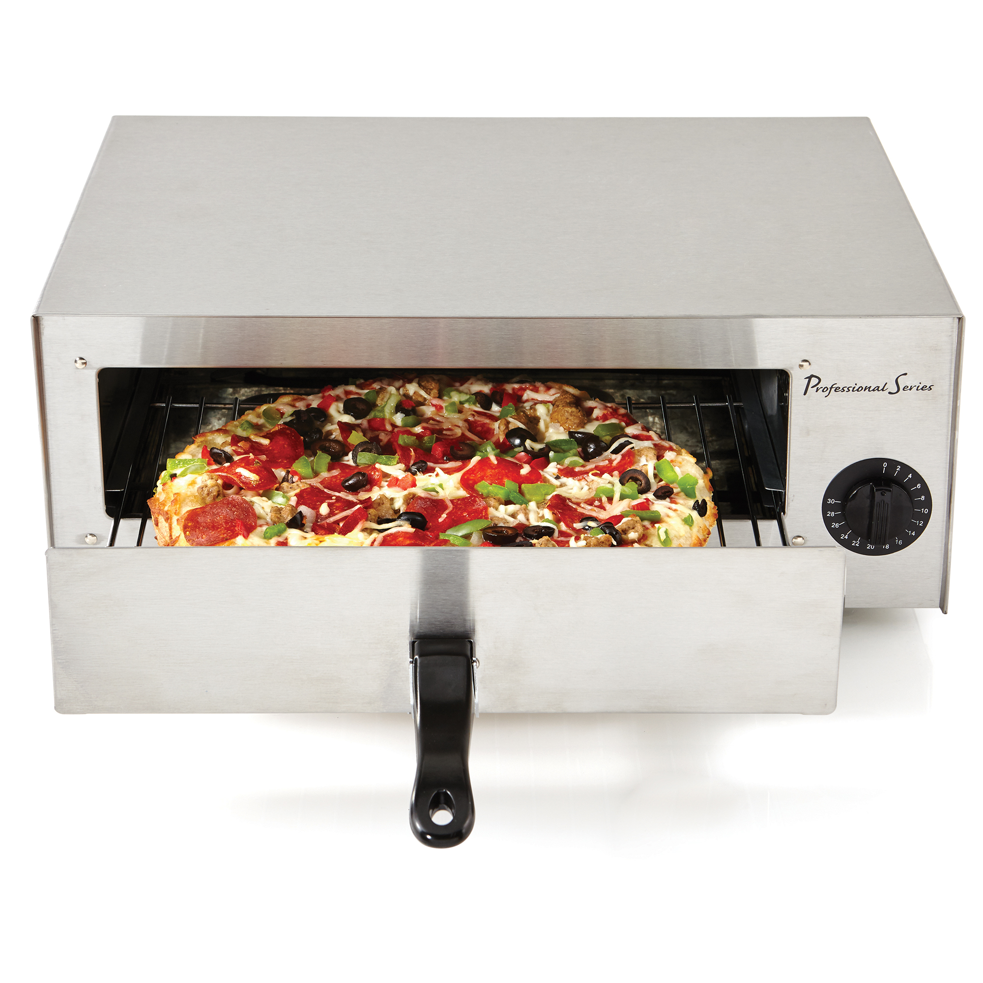 Continental Electric Pizza Baker Oven with 30 Minute Timer