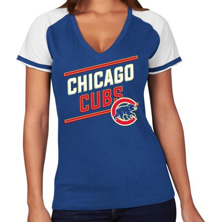 Mlb Chicago Cubs Plus Size Womens Basic Tee