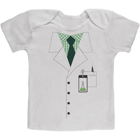 Halloween Scientist Costume Baby T - Baby Scientist Costume