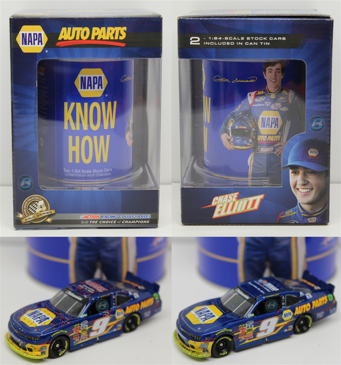 Chase Elliott 2014 Napa Know Can 2 Car Win 1:64 Nascar Diecast by Lionel Racing