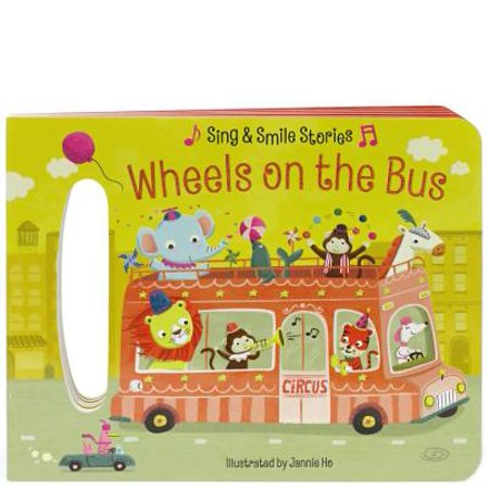 Wheels on the Bus : Board Book with Handle