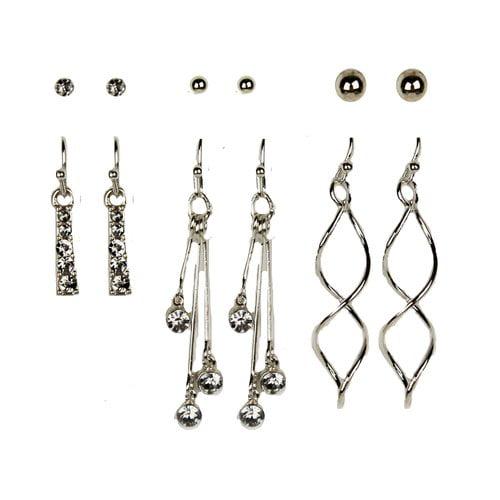 Essentials 6on Ear 6on Stud Dangle-helx