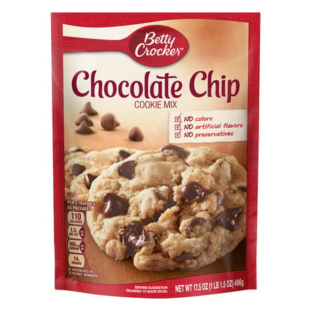Coconut Cookie Mix ((2 pack) Betty Crocker Chocolate Chip Cookie Mix, 17.5 oz )