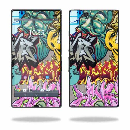 Mightyskins Protective Vinyl Skin Decal Cover for Sony Xperia Z 4G LTE T-Mobile wrap sticker skins Graffiti Wild Styles](sony xperia ion lte price)