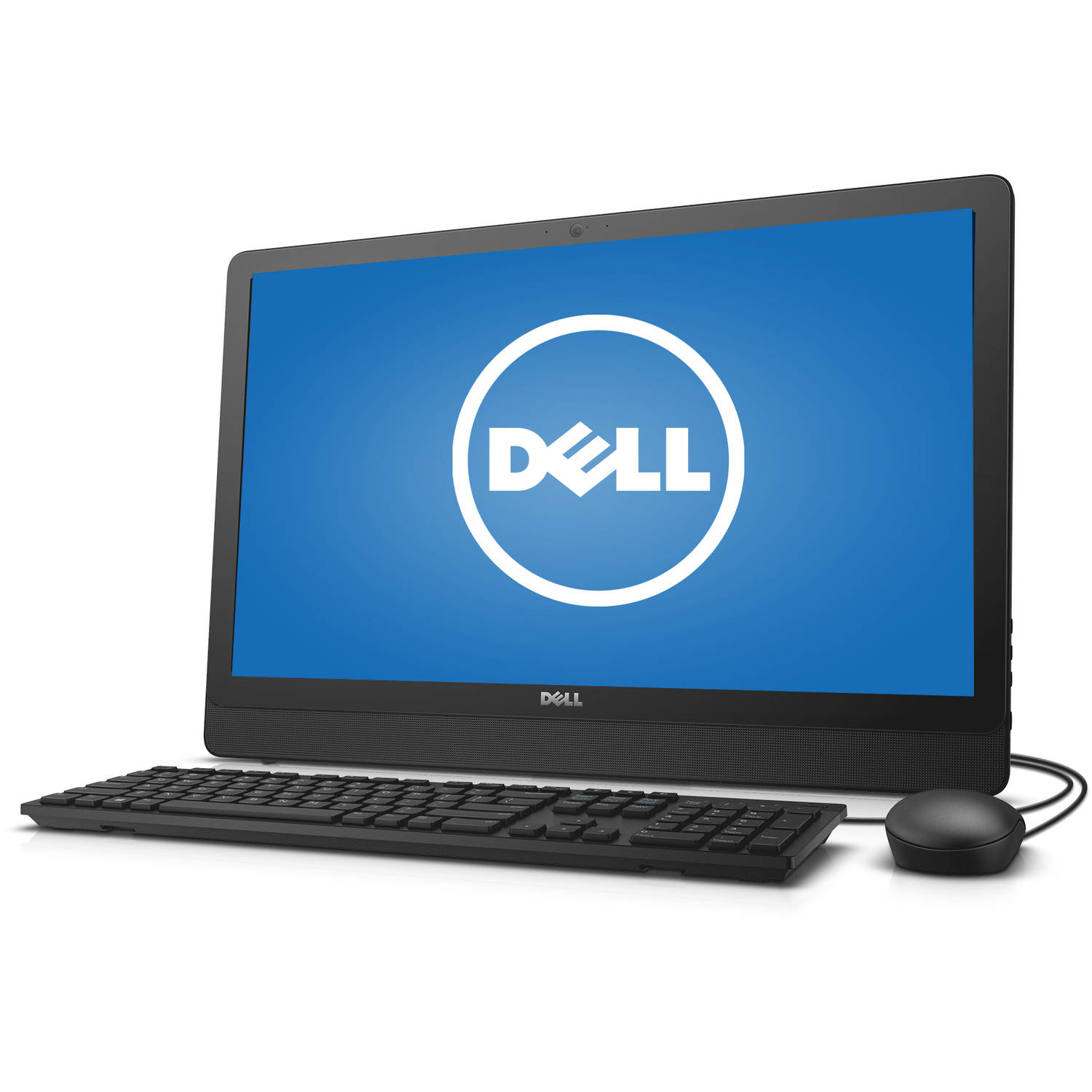 "Dell Inspiron 3455 i3455-1241BLK All-in-One Desktop PC with AMD E2-7110 Processor, 4GB Memory, 23.8"" Display, 500GB Hard Drive and Windows 10 Home"
