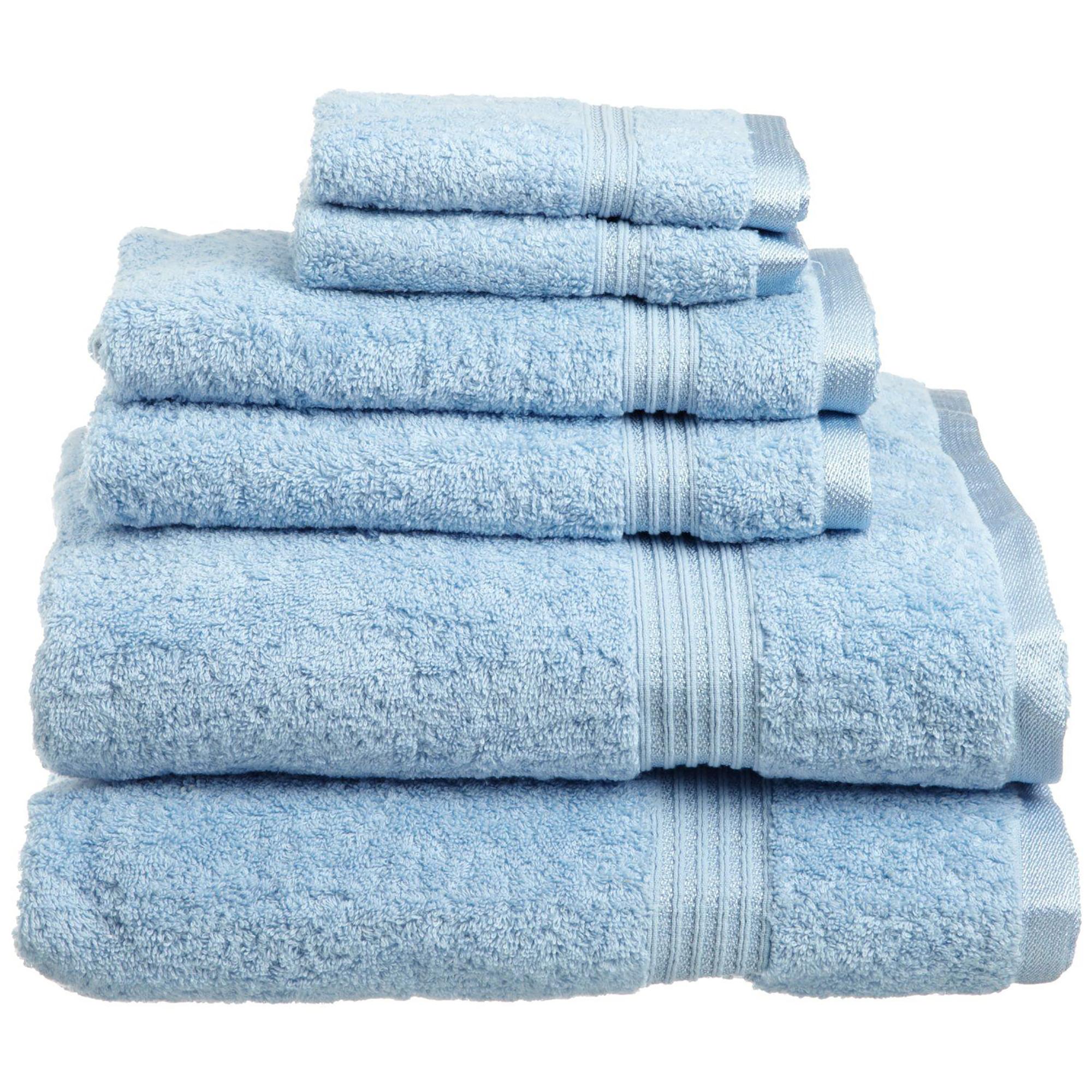 Superior 600GSM Egyptian Quality Cotton 6-Piece Towel Set