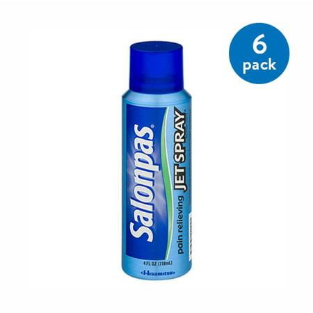 (6 Pack) Salonpas analgésique jet de pulvérisation 4 fl oz
