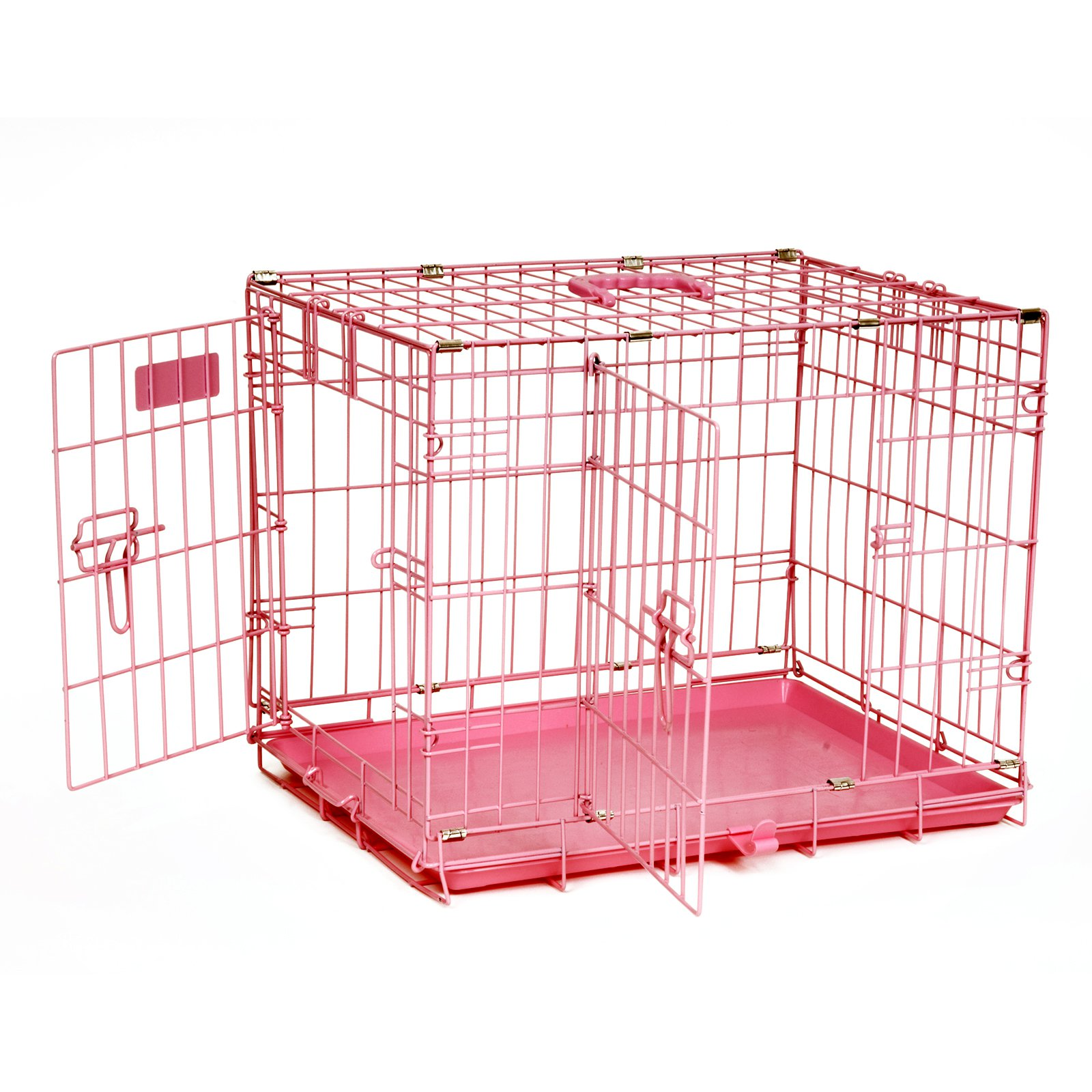 Precision Pink ProValu2 Crate 2000 - Two Door-24 x 18 x 19 in.