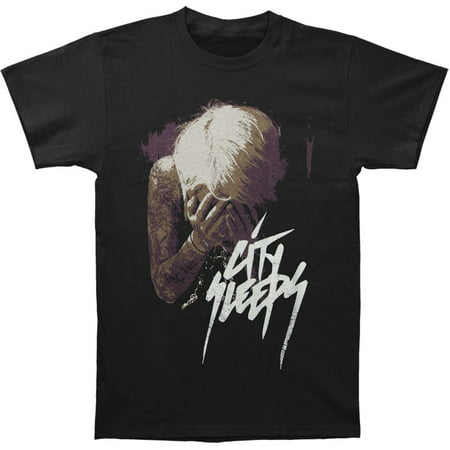 City Sleeps Men's  Angel T-shirt Black