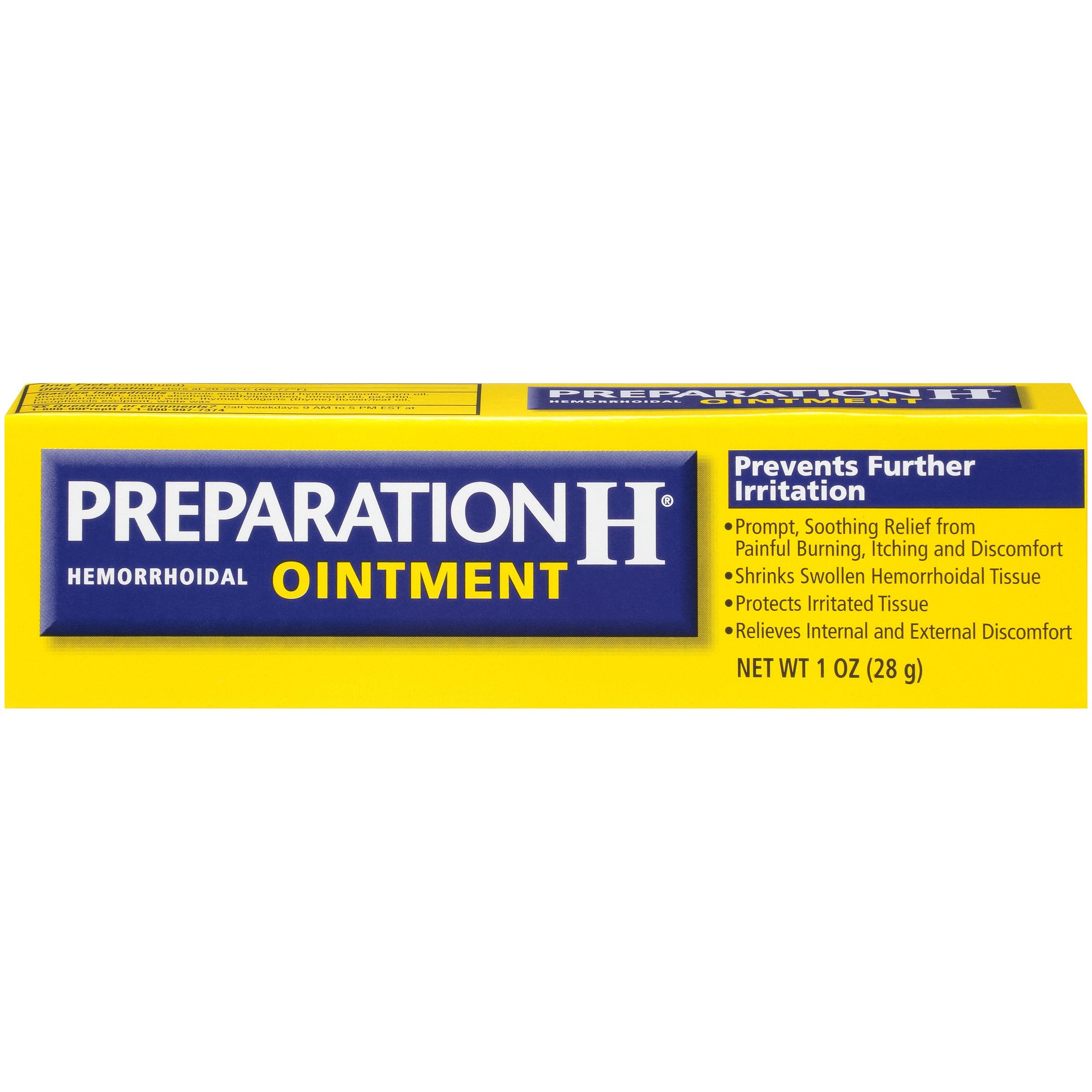 preparation h rides