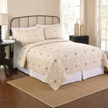 Better Homes And Gardens Orion Bedding Quilt Ivory