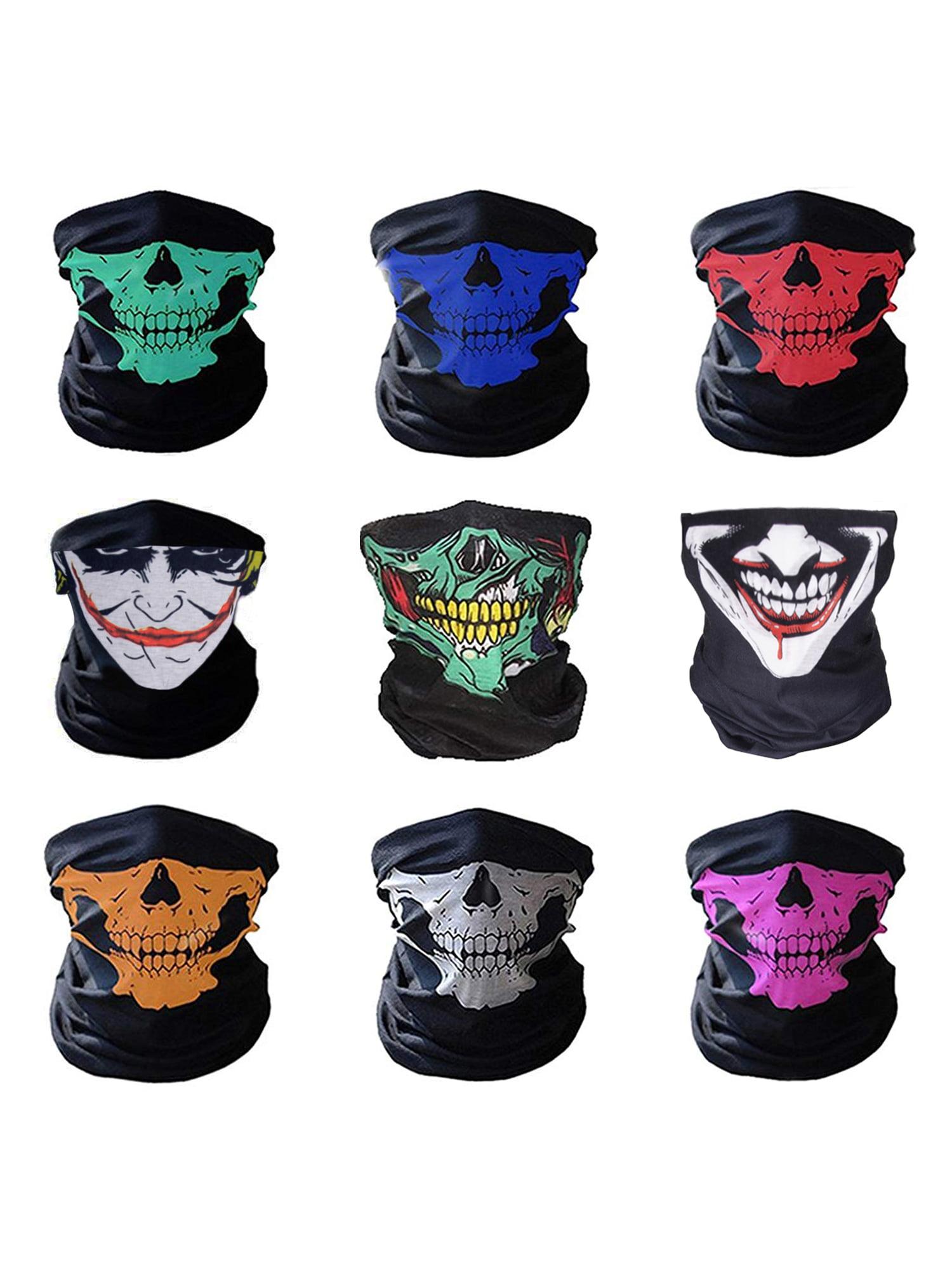 Multifunctional Neck Gaiter Headwear Women Men Boho Head Wrap Headband