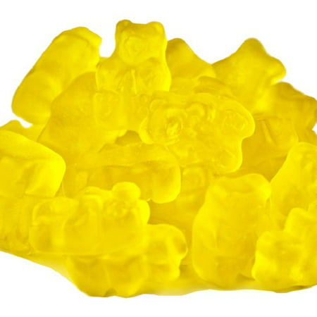 Yellow Gummi Bears Mango Flavor 1 pound Yellow Candy mango gummy - Hasbro Gummy Bears