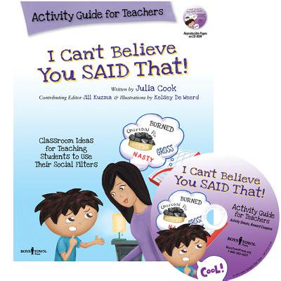I Can't Believe You Said That! : Activity Guide for Teachers: Classroom Ideas for Teaching Students to Use Their Social Filters](French Halloween Classroom Activities)
