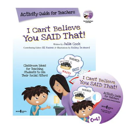 I Can't Believe You Said That! : Activity Guide for Teachers: Classroom Ideas for Teaching Students to Use Their Social Filters](Pinterest Halloween Ideas For Teachers)