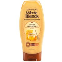 Garnier Repairing Conditioner Honey Treasures, For Damaged Hair, Whole Blends, 22 fl. oz.