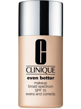 Clinique Even Better Foundation Makeup SPF 15, CN58 Honey, 1 Oz