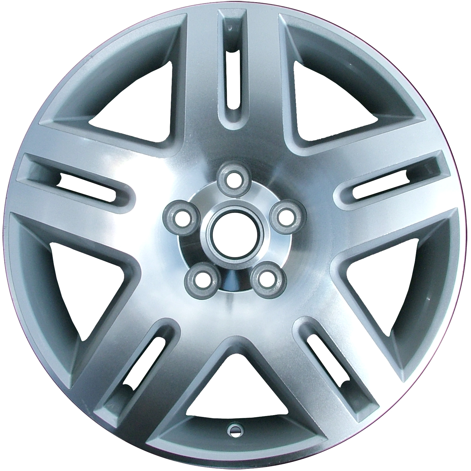 2006-2016 Chevrolet Impala  17x6.5 Alloy Wheel, Rim Sparkle Silver Painted with Machined Face - 5071