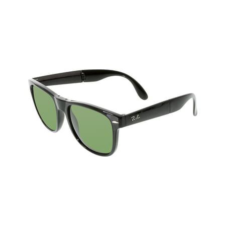 Ray-Ban Men's Folding Wayfarer RB4105-601-54 Black Sunglasses