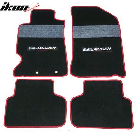 Acura RSX Dr OEM Factory Fitment Car Mugen Floor Mats Front - Acura rsx floor mats
