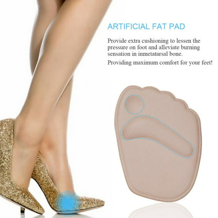 99b7f7730c 2Pair Gel Cushion High Heel Shoes Inserts Insole Ball Foot Arch Care Support  Pads,Gel