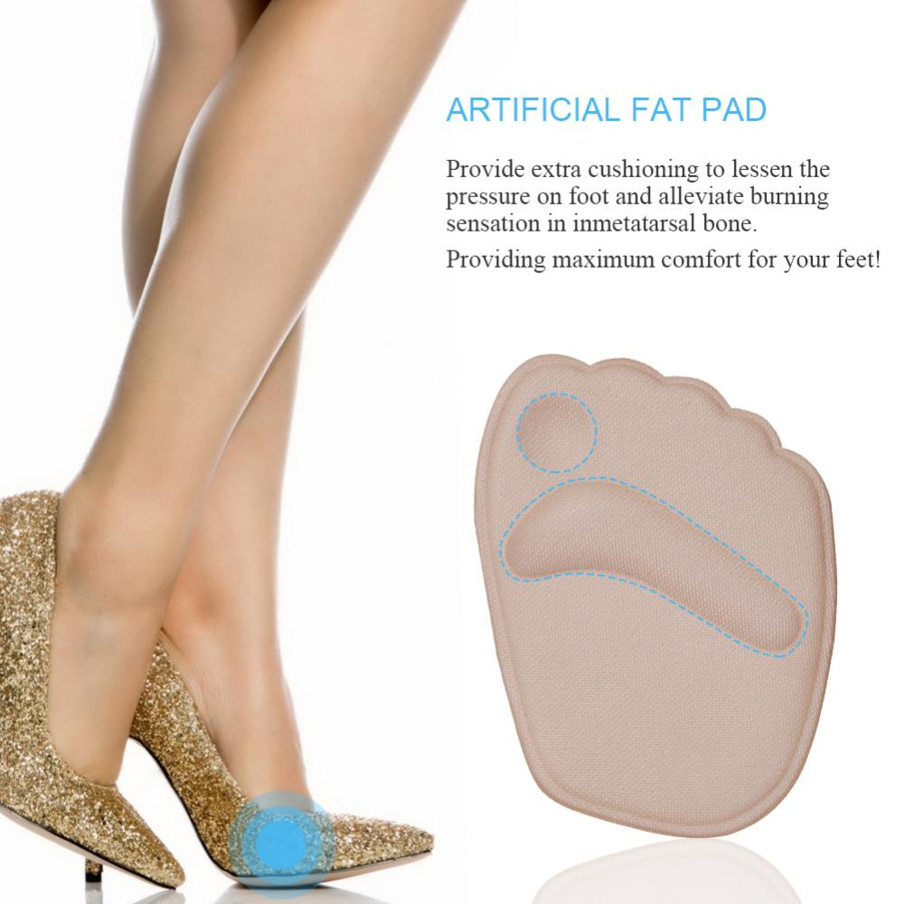Gel Cushion High Heel Shoes Inserts,WALFRONT Insole Ball Foot Arch Care Support Pad,2Pair Gel Cushion High Heel Shoes Inserts Insole Ball Foot Arch Care Support Pads