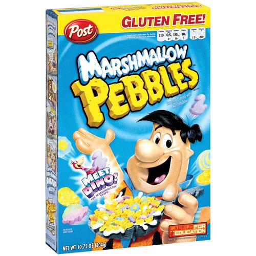 Post Marshmallow Pebbles Cereal, 10.75 Oz