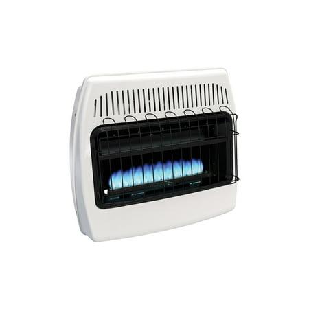 - HearthRite Blue Flame Heater Natural Gas 30000 BTU, Manual Control