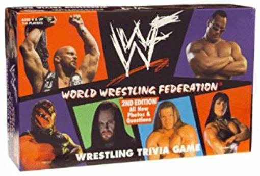 World Wrestling Federation Wrestling Trivia Game Lightly Used Condition by Cardinal Games