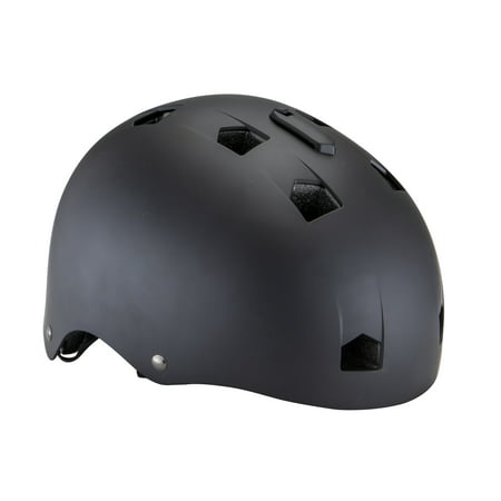 Mongoose Rewind Youth Bicycle Helmet with Camera Mount, ages 8 - 13, black