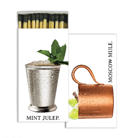 Date Mint Sets (HomArt - Match Box Set of 2 - Moscow Mule & Mint)