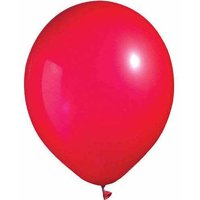 "11"" Latex Red Bright Tone Balloons, 100pk"