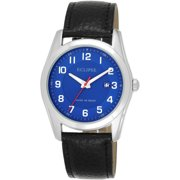 Eclipse Men's Round Blue Watch