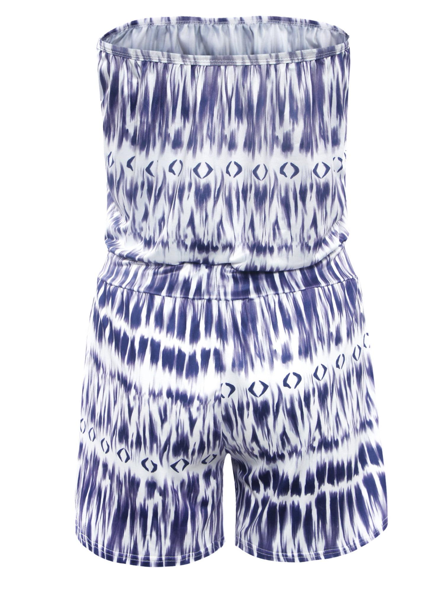 101e5c994 Topcobe - Topcobe Wrapped Jumpsuit Women Summer Clothing Romper,  Lightweight Summer Short Jumpsuit Rompers for Women, Blue Women Jumpsuits  on Sale (T2919BLL ...