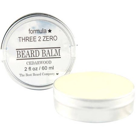 The Best Beard Company Formula Three 2 Zero Cedarwood Beard Balm, 2 fl